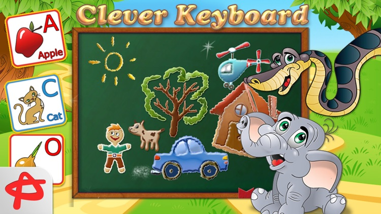 Clever Keyboard: Free ABC Learning Game For Kids