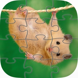 Hamster Jigsaw Puzzles Games for Kids and Toddlers