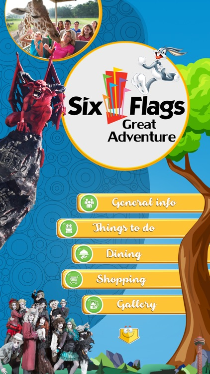 Best App for Six Flags Great Adventure screenshot-1