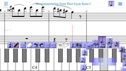 iWriteMusic screenshot1