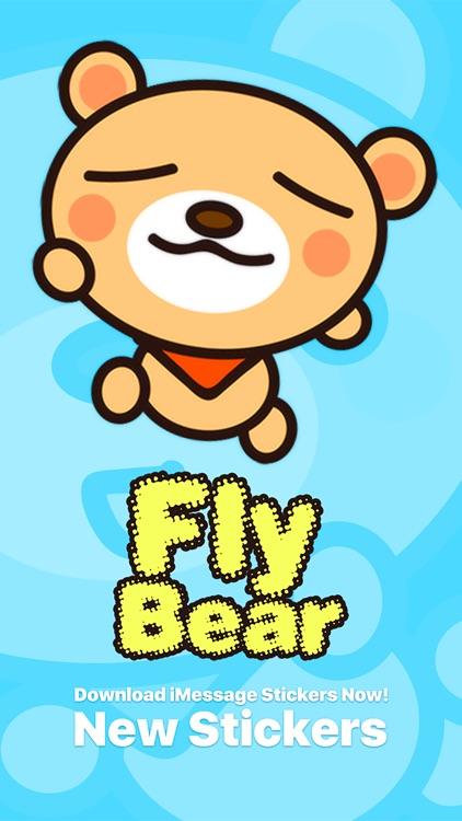 Fly Bear Pro - Cute Stickers by NICE Sticker screenshot-4