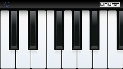MiniPiano screenshot one