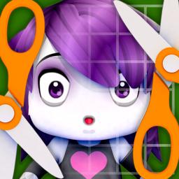 Ícone do app PaperChibi - Crie Avatares de Papercraft