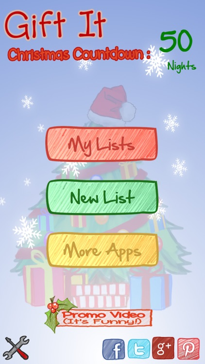 Gift It - Christmas List App