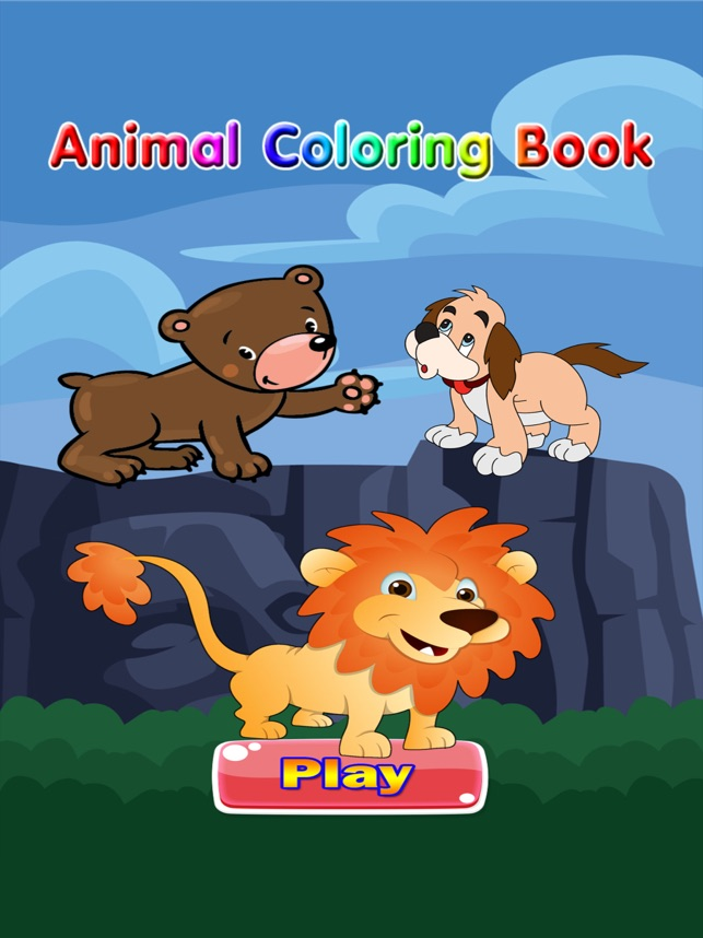 Animal Coloring Book For Kids - Free Games