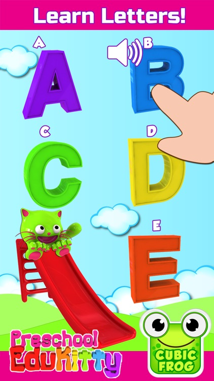 Toddler Educational Learning Games-EduKitty Free screenshot-3