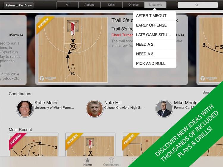 FastDraw Basketball Pro screenshot-3