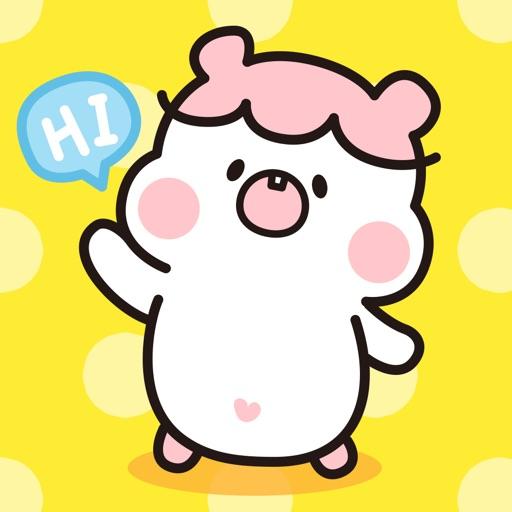 Hamster DORA − NHH Stickers