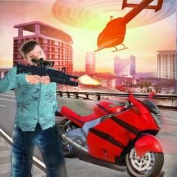 Miami Vegas Vice Bike Gangster Crime Simulator