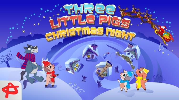 Christmas Night: Three Little Pigs Free Adventure screenshot-4