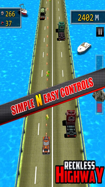 Reckless Highway - 3D Shooting And Racing Game
