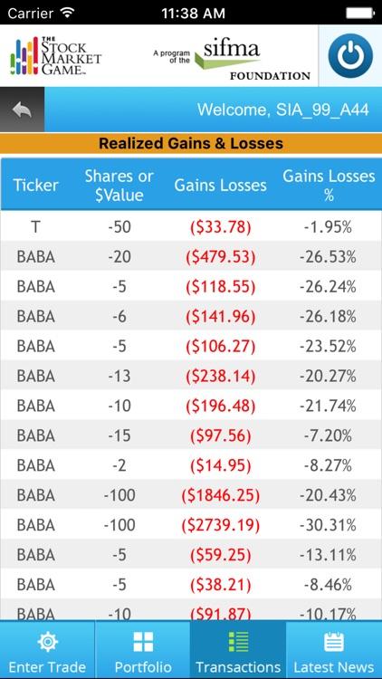 Stock Market Game screenshot-3