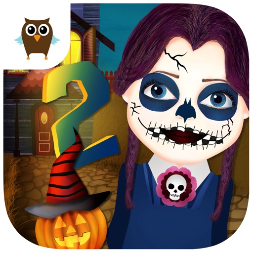 Funny Halloween Party 2 - Dress Up, Makeup & Nails