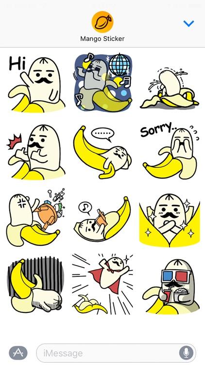 PAPABANA Lite - Mango Sticker