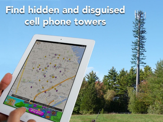 Find Tower - Locate 4G antenna Screenshot