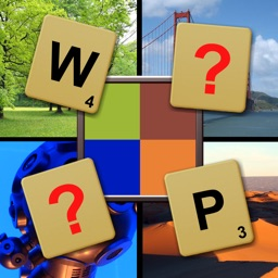 What`s Pixelated? word picture guessing puzzle
