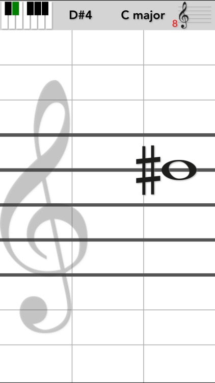 VoiceMyNote - Play tones by tapping the note sheet screenshot-1