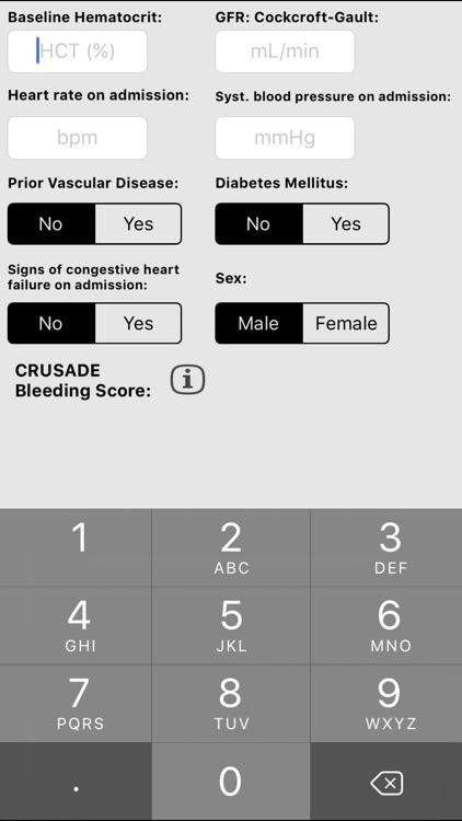 CRUSADE Score screenshot-3