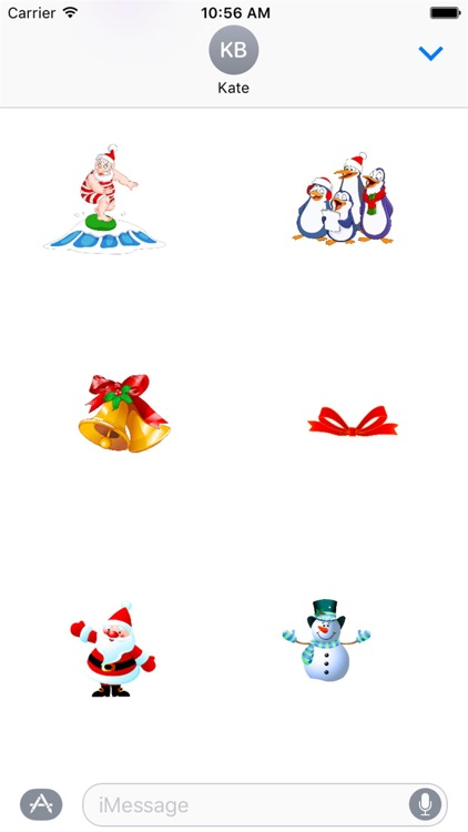 HD Christmas Stickers
