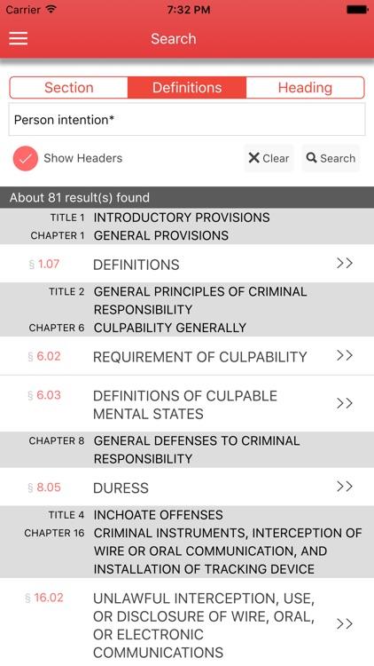 Texas Code of Criminal Procedure 2017 screenshot-3