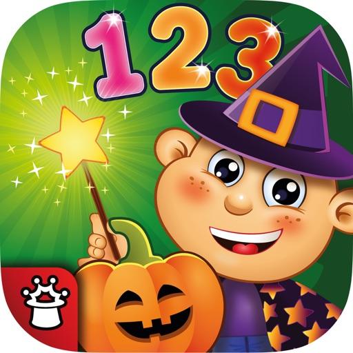 数字と数え方の学習.  子供向けのの学習ゲーム 幼稚園教育