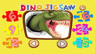 Dinosaur Puzzle Jigsaw HD Game For Toddlers & Kids screenshot one