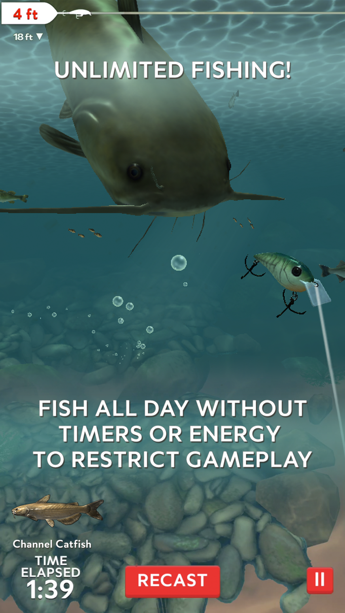 Rapala Fishing - Daily Catch Screenshot