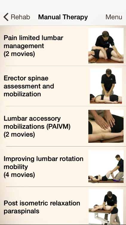 Clinical Pattern Recognition: Low back pain screenshot-3