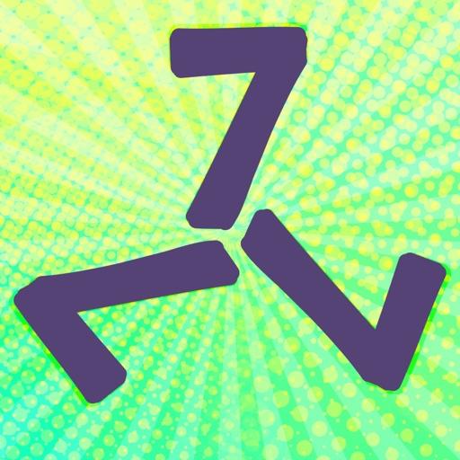 Three Sevens Logic Brain Teaser Classic Puzzle