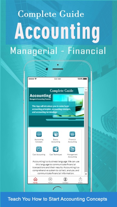 Learn of Managerial Accounting Financial Concepts screenshot one