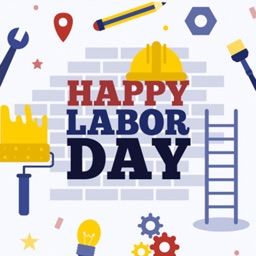 Happy Labor Day Stickers III by Kappboom