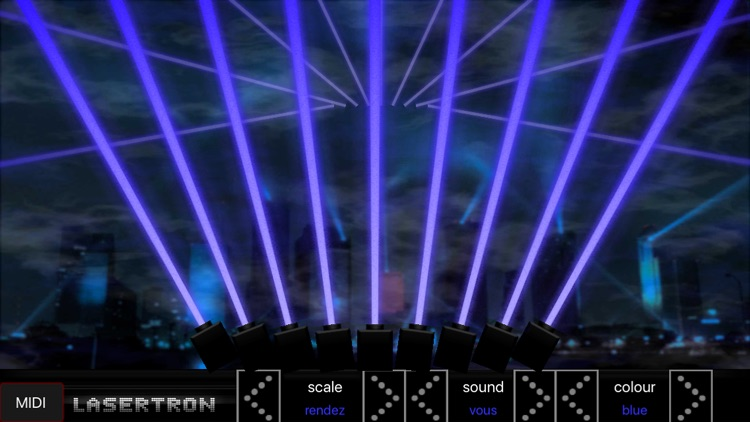 Lasertron Laser Harp Synth