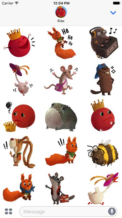 Kosmo & Klax: Sticker-Fun! screenshot 4