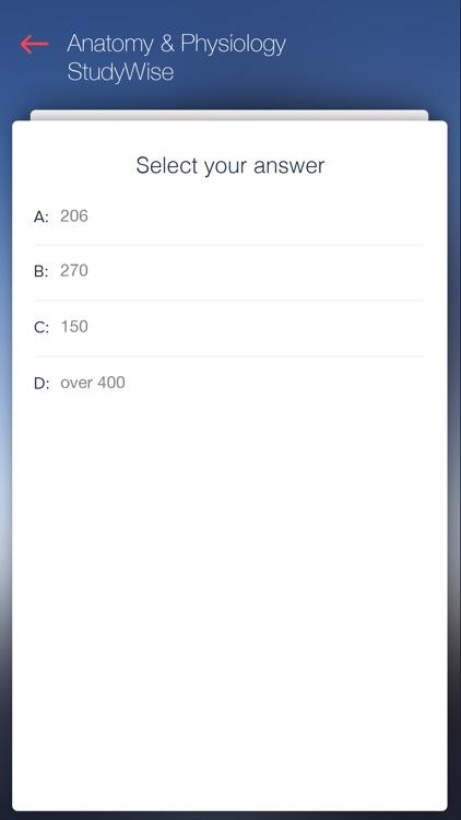 StudyWise - Anatomy & Physiology screenshot-3