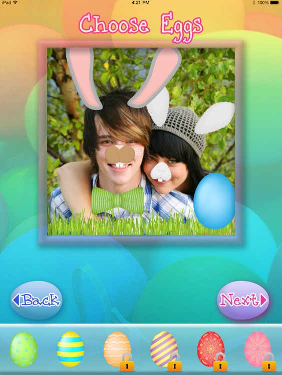 Easter Bunny Yourself Dress Up Social Photos