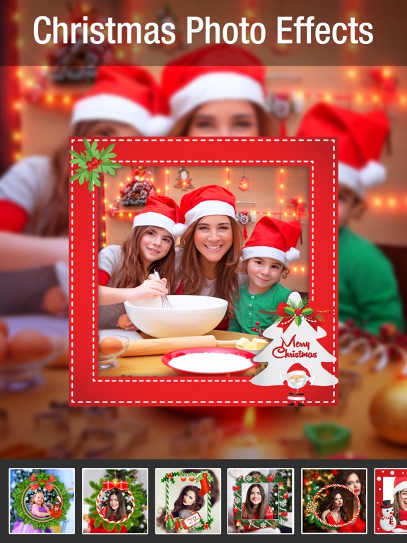 screenshot 1 for christmas photo effects framespic filters editor