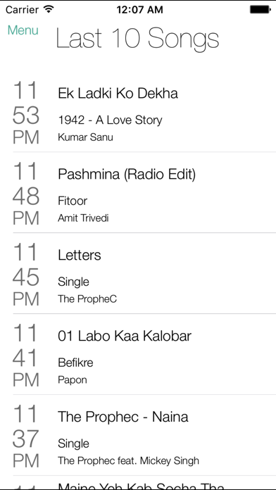 ITMB Radio screenshot two