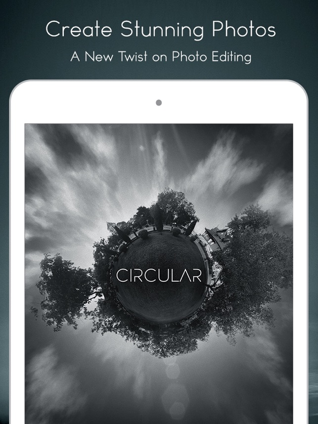 Circular Tiny Planet Editor Screenshot