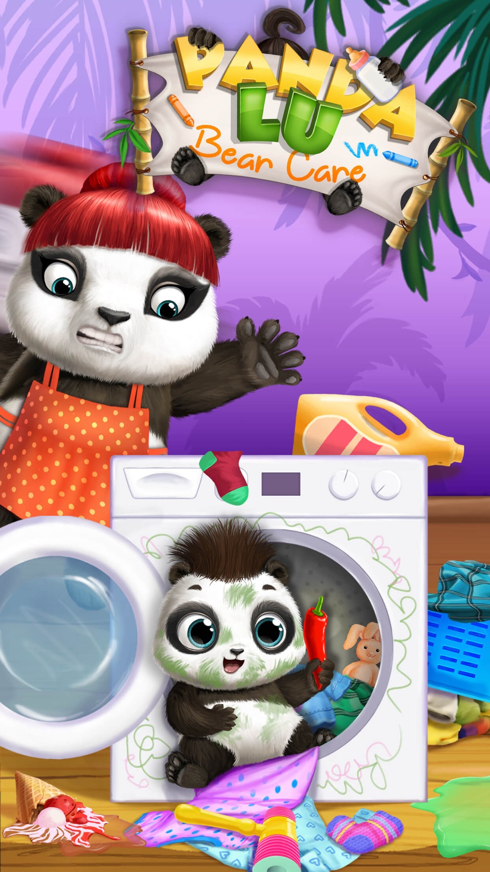 Panda Lu Baby Bear Care – Cute Mini Pet Friend