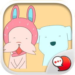 Dog and Cat is Friend Stickers for iMessage