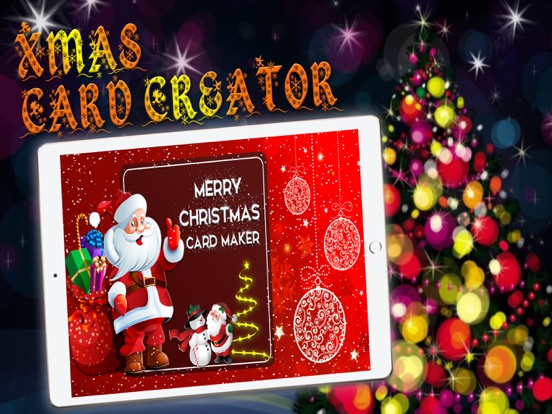 screenshot 2 for merry christmas card maker make santa claus cards - Christmas Photo Card Maker