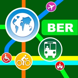 Berlin City Maps - Discover BER with MRT,Bus,Guide