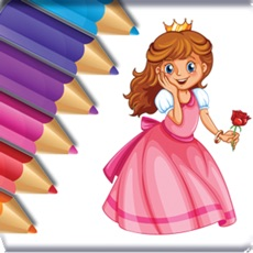 Activities of Pretty Princess Coloring Book Game for Kids