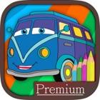 Carros colorir páginas para crianças - Pro icon