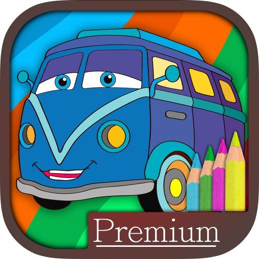 Cars coloring pages for kids – Pro