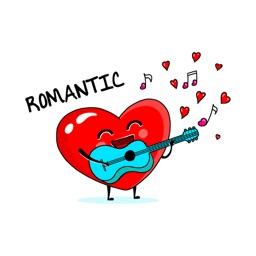 Cute Hearts stickers by Esra Olmez