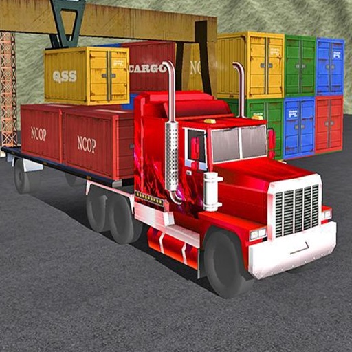 Simulation Driving Delivery Truck