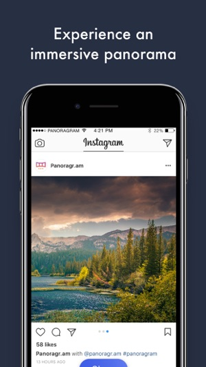 Panoragram - Panoramas for Instagram on the App Store
