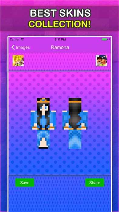 Little Carly Skins For Minecraft Pocket Edition-2