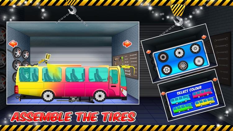 Bus Builder Mechanic – Auto Vehicles Factory screenshot-3